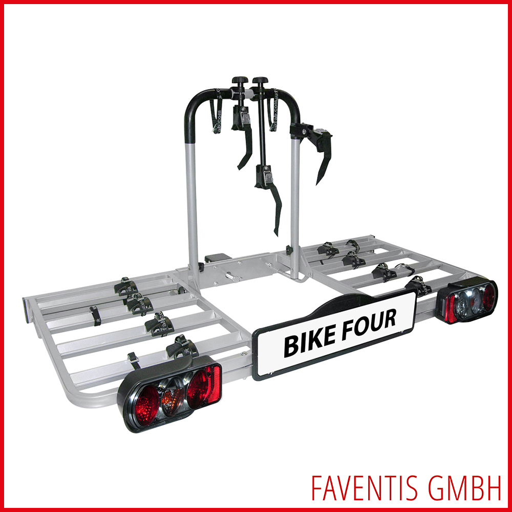 eufab fahrradtr ger bike four f r die anh ngerkupplung f r 4 fahrr der bis 70kg ebay. Black Bedroom Furniture Sets. Home Design Ideas