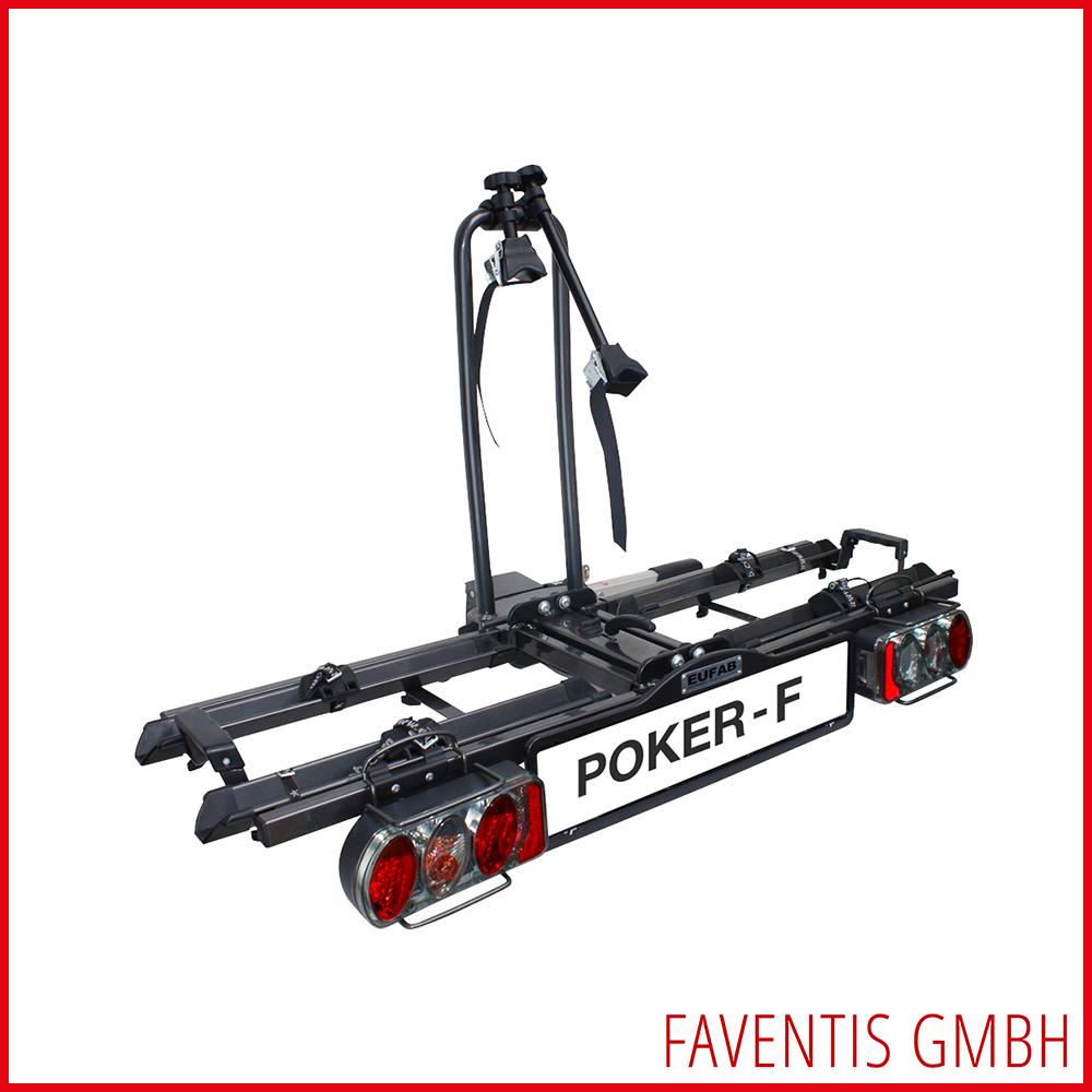 eufab fahrradtr ger poker f ahk tr ger nutzlast 50kg uvp. Black Bedroom Furniture Sets. Home Design Ideas