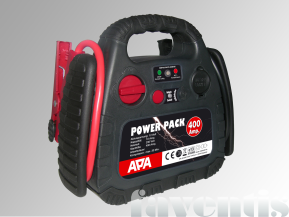 Power Pack 12V, Starthilfe 400A, 18Bar Kompressor