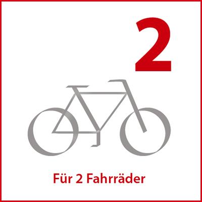 eufab ahk fahrradtr ger james erweiterung f r 3 fahrrad. Black Bedroom Furniture Sets. Home Design Ideas